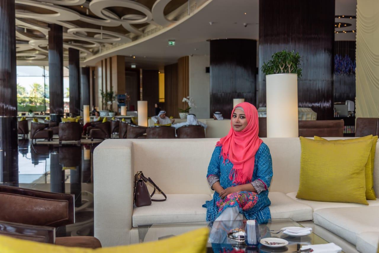 AL FORSAN Afternoon Tea & Saray Spa at Marriott Hotel Al